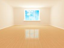 Empty white room Royalty Free Stock Image