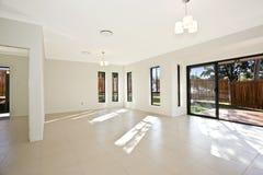 Empty white room Stock Photography