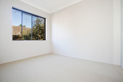 Empty white room Royalty Free Stock Photography