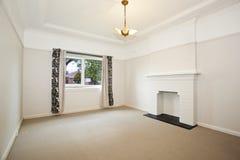 Empty white room stock photos