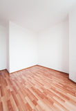 Empty white room Royalty Free Stock Photo