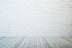 Empty white room Stock Image