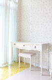 Empty white room for decoration. In beautiful home Royalty Free Stock Photography