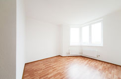 Empty white room with window Stock Photography
