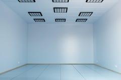 Empty white room, workroom. 3d illustration Stock Images