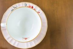 Free Empty White Tea Cup Royalty Free Stock Photo - 48417305