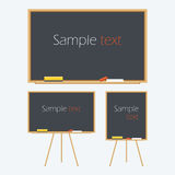 Empty Whiteboard Royalty Free Stock Images