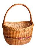 Empty Wicker Basket Stock Photography