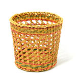 Empty wicker basket Royalty Free Stock Photos
