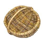 Empty wicker basket Royalty Free Stock Photography