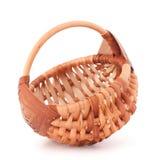 Empty wicker basket Royalty Free Stock Photos