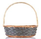 Empty wicker basket Royalty Free Stock Image