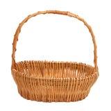 Empty wicker basket Royalty Free Stock Photo