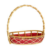 Empty wicker basket. Stock Photography