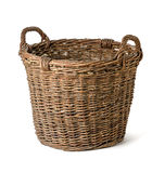 Empty wicker basket Royalty Free Stock Photography