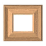 Empty wide frame pictures of boards. Vector Wood texture stock illustration