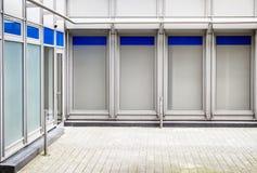 Empty window displays Stock Images