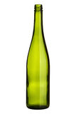 Empty wine bottle Stock Image