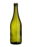 Empty wine bottle Stock Photos