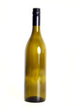 Empty wine bottle. Stock Image