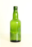 Empty wine bottle. Royalty Free Stock Photos