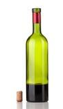 Empty wine bottle Royalty Free Stock Photos