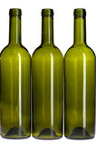 Empty wine bottle close up Royalty Free Stock Photos