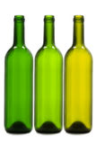 Empty wine bottles Stock Photo