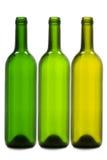 Empty wine bottles Stock Photo