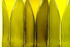 Empty Wine Bottles Royalty Free Stock Photography