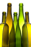 Empty Wine Bottles Royalty Free Stock Images