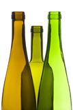 Empty Wine Bottles Stock Images