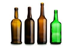 Empty wine bottles Royalty Free Stock Photography