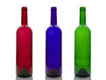 Empty wine bottles. Stock Photography