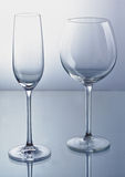 Empty wine glass Royalty Free Stock Photos