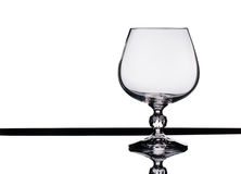 Empty wine glass. Stock Images