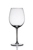 Empty wine glass. Stock Image