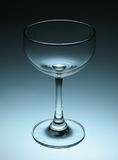 Empty Wine Glass Royalty Free Stock Photography