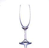 Empty wine glass isolated Royalty Free Stock Photos