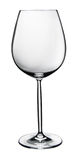 Empty wine glass isolated Stock Photography