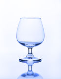 Empty wine glass Stock Photos