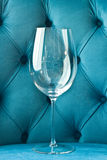 Empty wine glass Royalty Free Stock Image
