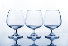 Empty wine glass Royalty Free Stock Image