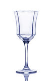 Empty wineglass. Royalty Free Stock Images