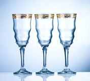 Empty wineglass Royalty Free Stock Photography
