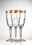Empty wineglass Royalty Free Stock Photo