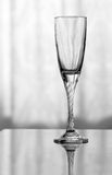 An empty wineglass Stock Photo