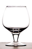 Empty wineglass Stock Image