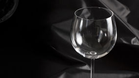 Empty wineglass Royalty Free Stock Images