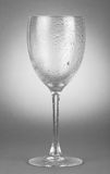 Empty wineglass Stock Photos